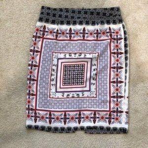Forever 21 Soft Multi Color Dressy Skirt Medium